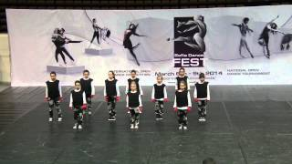 Sofia Dance Fest Hip hop Formation Children 1st place