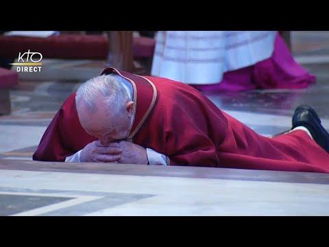 Office de la Passion présidée par le pape François