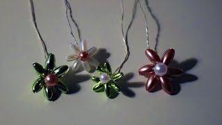 Perlenblumen basteln