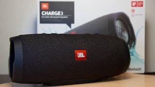 JBL CHARGE 3 - распаковка | подключение | тест
