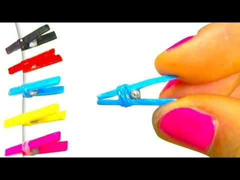 How to make doll clothes peg - DIY tutorial - YolandaMeow♡