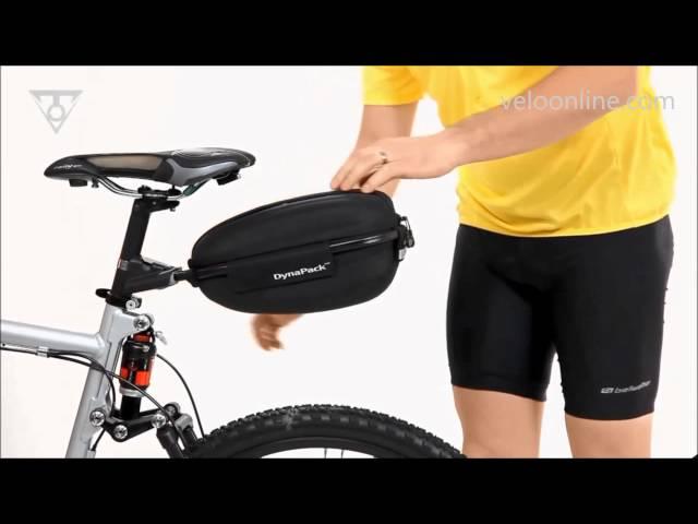 Видео Велосипедная корзинка на руль Topeak Basket Front black
