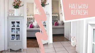 Small Hallway, Mini Makeover | Cottage Style Decor