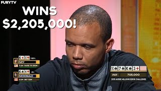 Phil Ivey Runs Like A GOD And Wins $2,205,000!