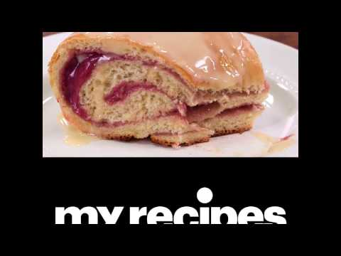 How to Make Raspberry and Cream Cheese Danish Roll