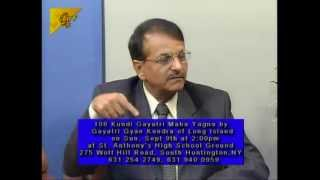 Year 2012 | Pragna Patel, Purnima Kapadia, Pravin Kapadia with Ashok Vyas of ITV