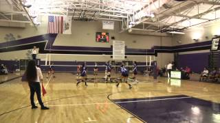 preview picture of video 'Eastside v Lancaster High School Girls Volleyball'