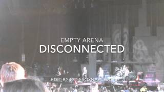 disconnected empty arena