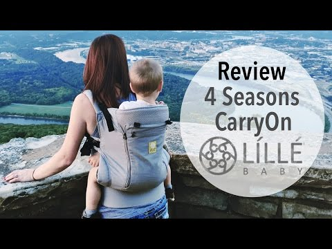 NEW Líllébaby CarryOn 4 Seasons Toddler Carrier Review! THE BEST Baby Carrier!