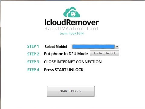 How to Removal and unlock iCloud activation lock without IN BOX