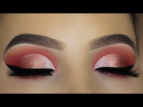 Peachy Eye Makeup Tutorial using $6 Palette?!