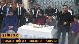 ŞEİRLƏR (Resad Dagli, Rufet Nasosnu, Balaeli, Perviz Bulbule) Meyxana 2017