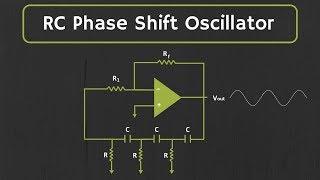 RC Phase Shift Oscillator (using Op-Amp) Explained
