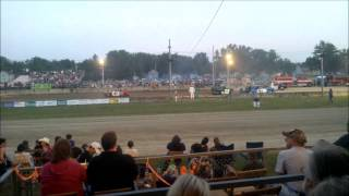 preview picture of video 'Demolition Derby at Ashtabula County Fair - Day 1 Six Cylinder - August 7th, 2014'