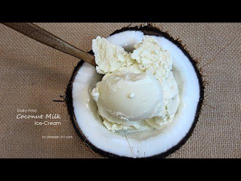Video Dairy-Free Coconut Milk Ice-Cream | Dietplan-101.com