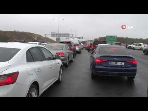 Tuzla'da Formula 1 yarış heyecanı trafiği vurdu