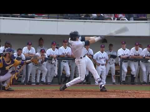 Ole Miss Baseball Defeats #6 ECU 3-2 (2-18-17)