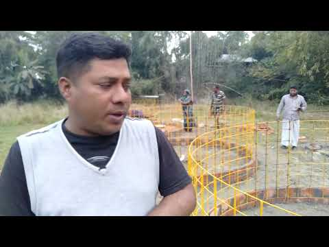 Biofloc tank setup - Biofloc Fish Farming Training 2019 - Video