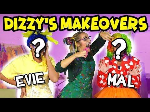 Descendants 2 Dizzy's Crazy Makeovers. Totally TV