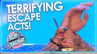 TERRIFYING ESCAPE ACTS Around The World! | Top Talent
