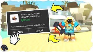 I BOUGHT THE NUKE (25,000R$) | Beach Simulator