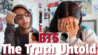 BTS 'The Truth Untold' (feat. Steve Aoki) Lyric REACTION!!!