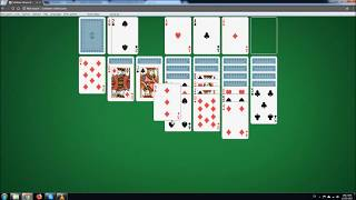 Klondike Solitaire - a no commentary walkthrough
