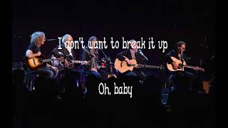 Break It Up - Foreigner Lyric Video
