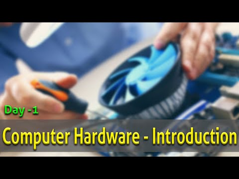 1- Introduction to Computer Hardware ? Computer Hardware full ...