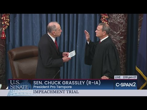 U.S. Senate: Swearing-in of Chief Justice & Senators