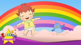 I Can Sing a Rainbow - Rainbow song - Color song - Nursery Rhymes with lyrics - Song for children