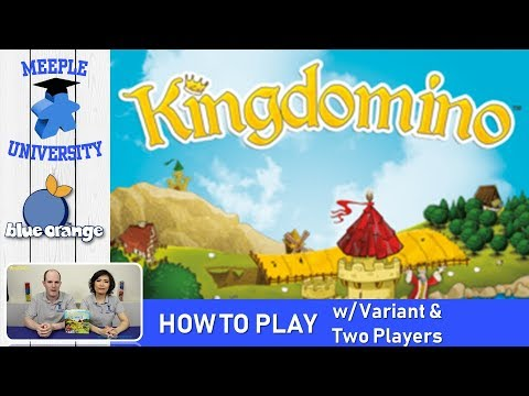 Kingdomino Board Game – How to Play & Setup, Tutorial - Updated 3p rules, variant & 2 player