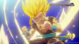 Dragon Ball Z: Kakarot - Super Saiyan 2 Gohan Vs Super Perfect Cell Boss Fight