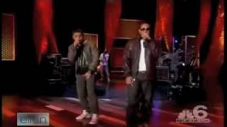 Jesse McCartney and Ludacris-How Do You Sleep Live