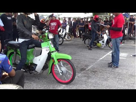 DRAG BIKE 4t EX5 Std Body Drag Racing Kubang Menerong Ogos 2018