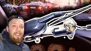 СЛОМАЛИСЬ ДВОРНИКИ СТЕКЛООЧИСТИТЕЛЯ МЕРСЕДЕС W202 РАЗБОРКА  ДВОРНИКА /КАРТАВЫЙСПЕЦ AutoDogTV #17