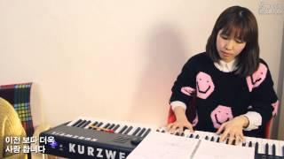 내주되신주를[진송 찬송가 시리즈 S03]_찬송가512장_보컬 김진애 with 피아노 이요은_엄스뮤직_Hymn Song_Product by eumsCreative