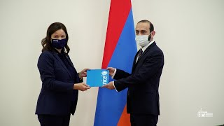 ԱԳ նախարար Արարատ Միրզոյանն ընդունել է Հայաստանում ՅՈՒՆԻՍԵՖ-ի ներկայացուցչին