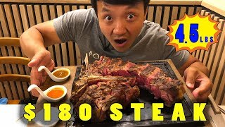 Eating ENTIRE Huge FLORENTINE STEAK in Florence Italy - Video Youtube