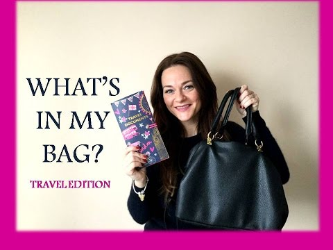 WHAT'S IN MY BAG? La mia borsa da viaggio!
