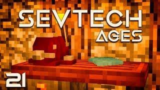 SevTech Ages EP21 Immersive Petroleum Pumpjack +