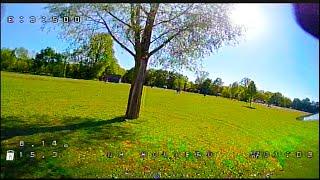 Holybro Kopis Mini - FPV Test flight # 1 - Feeling things out :) - 2020-05-05