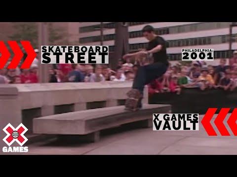 X Games 2001 SKATEBOARD STREET FULL COMP: X GAMES THROWBACK