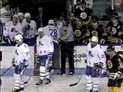 Jacques Mailhot vs. Cam Neely