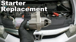 How to Replace A Starter On A Honda Civic 2006-2011