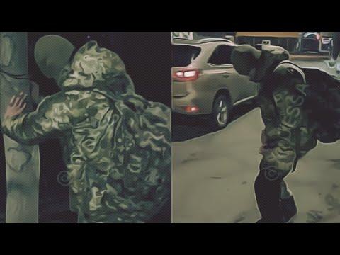 Забавные кадры: «Обдолбанный» военный ВСУ попал на видео