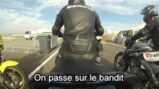 preview picture of video 'Piste Fontenay le comte moto'