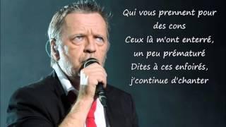 Renaud   Toujours Debout Paroles