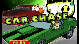 Car Chase - Ben 10 Car Racing Games To Play Free Online
