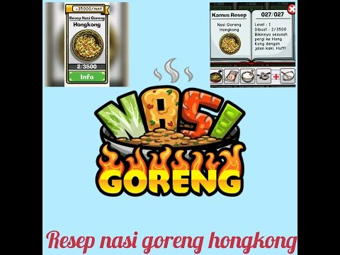 Video Nasi Goreng Hongkong dan Nasi Goreng Vegan - OWN GAME